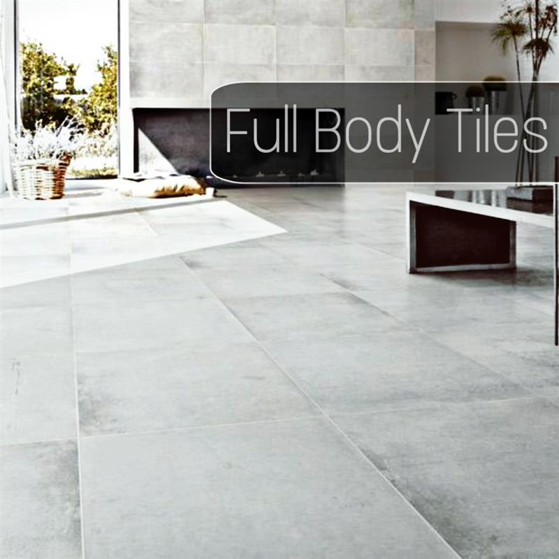 PORCELAIN TILES (FULL BODY)